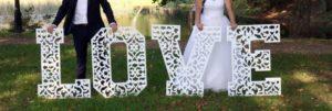 фото бутафория на свадьбу